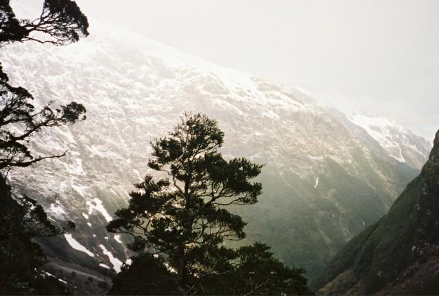Descent from MacKinnon Pass