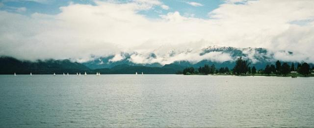 View across Lake Te Anau