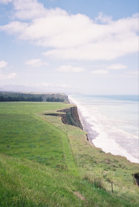 Atop the cliffs above the Pacific