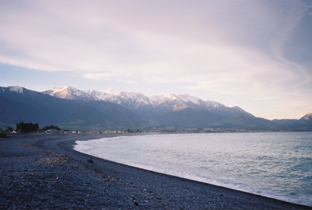 Back on the Kaikoura beach