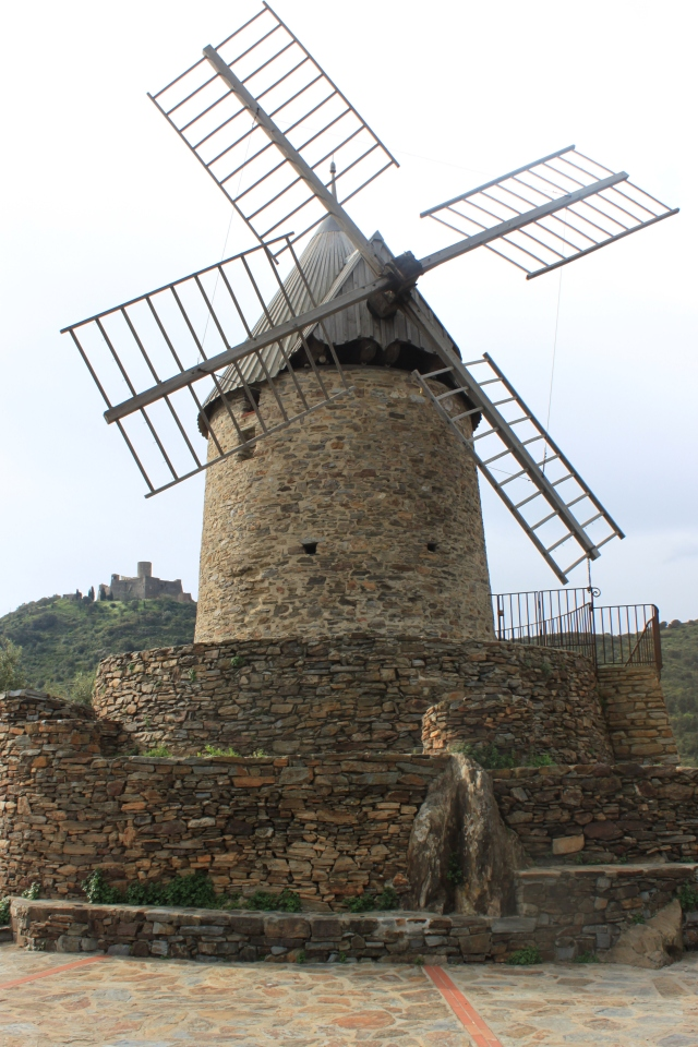 Windmill above Collioure