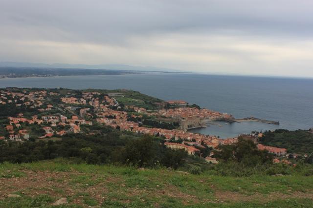 Saying farewell to Collioure.