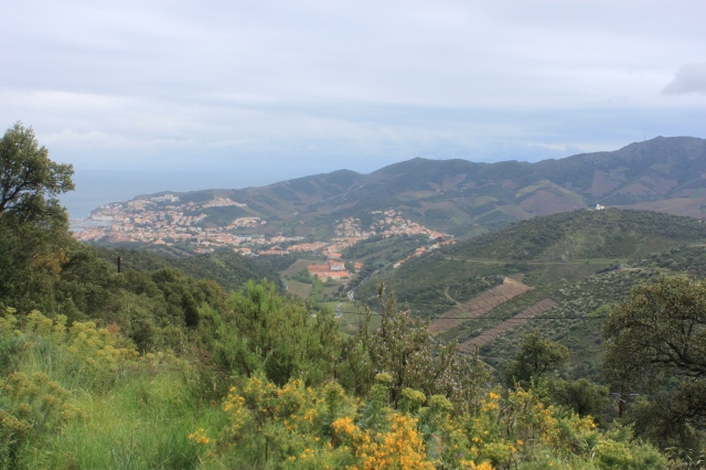 Our destination: the town of Banyuls-sur-Mer