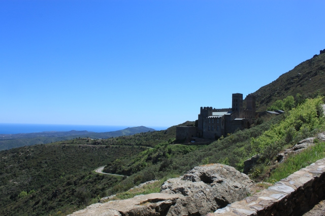 Final approach to Sant Pere de Rodes