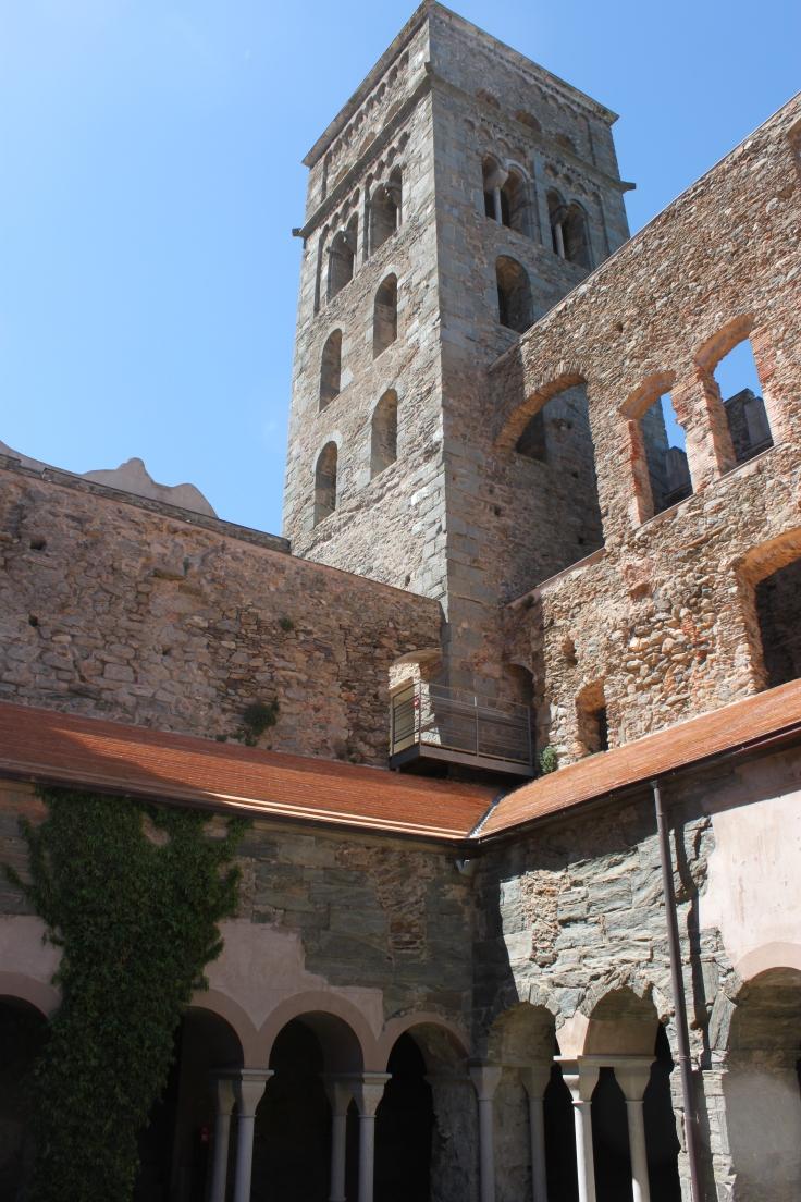 Inside Sant Pere de Rodes